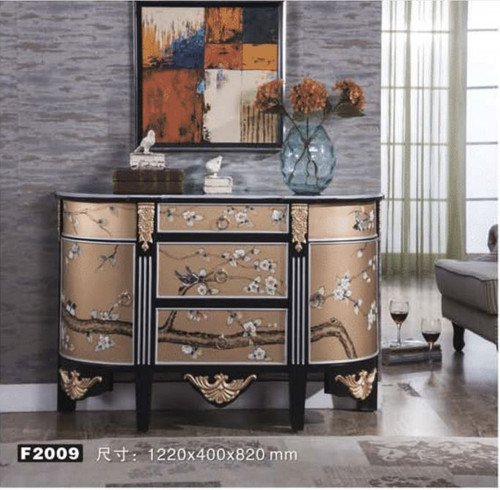 ARLINGTON  1220(W)  DECORATIVE   BUFFET - SIDEBOARD  WITH 2 DOORS /  3 DRAWERS  (MODEL:F2009) - AS PICTURED