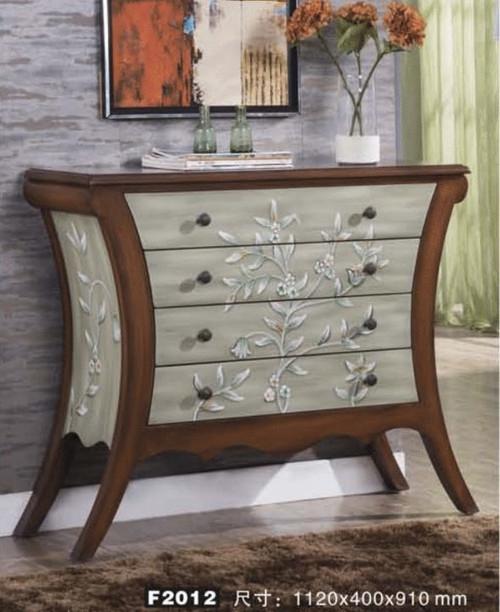 ANGLO 1120(W) HALLWAY / SOFA TABLE WITH 4 DRAWERS (MODEL:F2012) - AS PICTURED