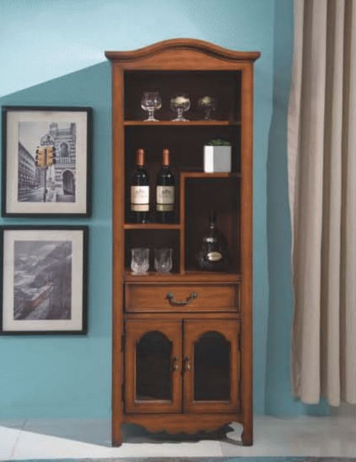 COURTNEY   DECORATIVE  WINE CABINET  MODEL:F2027) - AS PICTURED