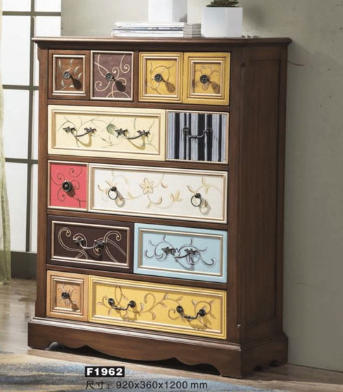 DAVIE DECORATIVE TALLBOY (MODEL:F1962) - 1200(H) X 920(W) - AS PICTURED