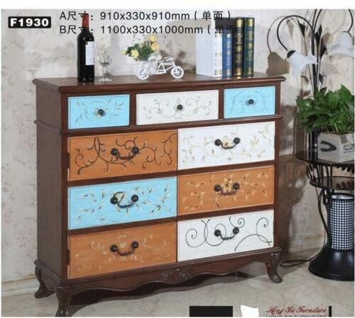 BRASOV   1100(W) DECORATIVE  2 DOOR / 3 DRAWER  SIDEBOARD  (MODEL:F1930B) - AS PICTURED