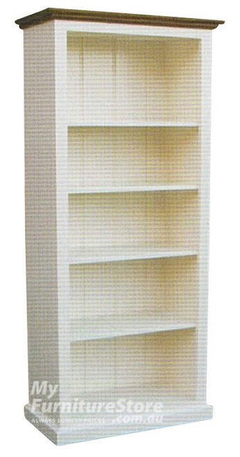 COLONIAL BOOKCASE (6X2) - 1800(H) x 600(W) - ASSORTED COLOURS