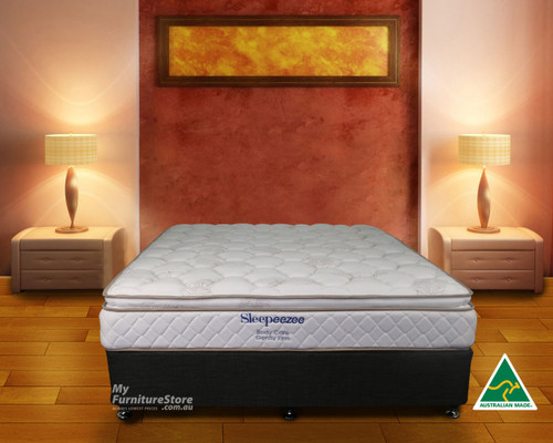 DOUBLE BODYCARE PILLOW TOP MATTRESS - GENTLY FIRM