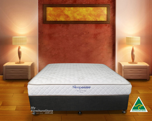 KING SINGLE BODYCARE TIGHT TOP  FIRM MATTRESS - FIRM