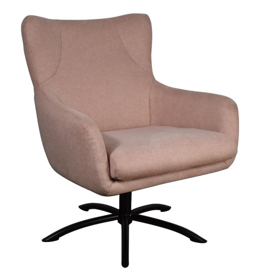 BELLA FABRIC CHAIR - PINK