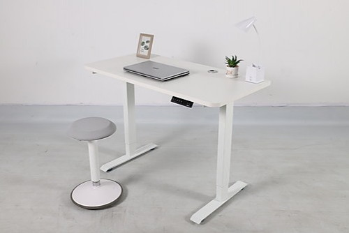 CAPELLA ADJUSTABLE MOTORIZED STANDING DESK ONLY - WHITE