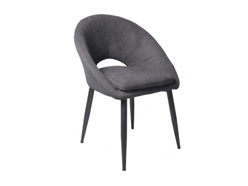 DREYAR FABRC DINING CHAIR - CHARCOAL