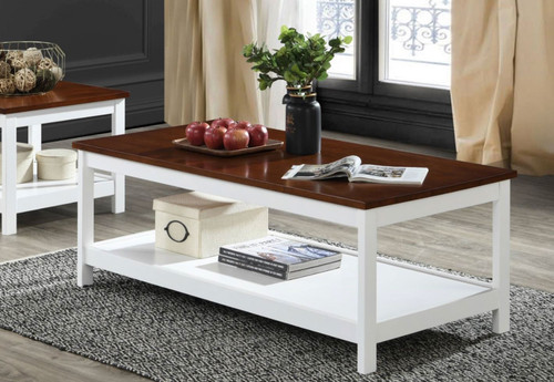CASINO COFFEE TABLE - 1200(W) x 600(D) - TWO TONE