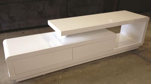 COTO TV STAND - WHITE
