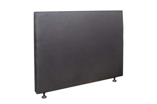 DOUBLE RIVERDALE LEATHER BEDHEAD ONLY - ASSORTED COLOURS