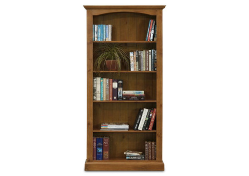 BATHURST BOOKCASE 6 X 3 (OPEN) - RUSTIC