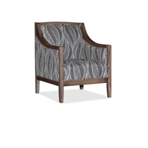 CLANCY ACCENT CHAIR LEAF FABRIC - AS PICTURED