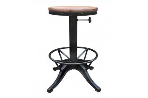 CARSON INDUSTRIAL BAR STOOL - AS PICTURED