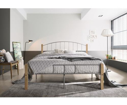 DOUBLE HAMLET METAL BED FRAME - TWO TONE