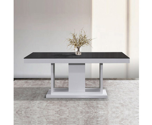 BERLIN DINING TABLE -1800(W) x 950(D) - WHITE ASH