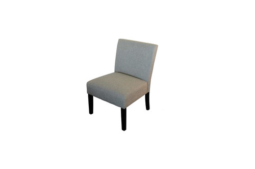ALBANY FABRIC UPHOLSTERED CHAIR - NATURAL