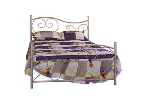 DOUBLE VALENTINE BED - CHOICE OF COLOURS