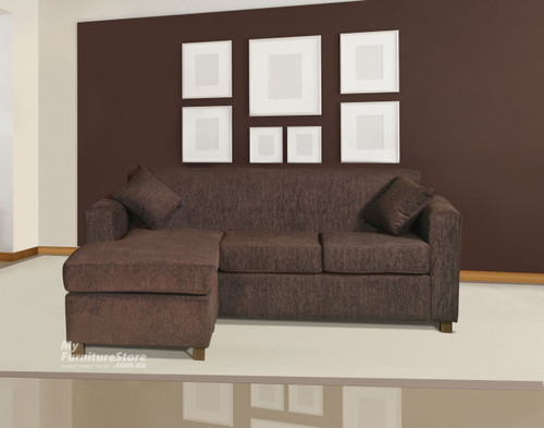 CARY 3 SEATER CHAISE - ASSORTED COLOURS