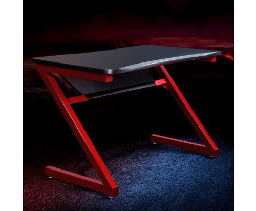 GRIFFON GAMING DESK  - BLACK & RED