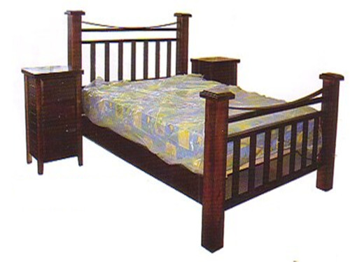 DOUBLE WARRIOR BED - ASSORTED COLOURS