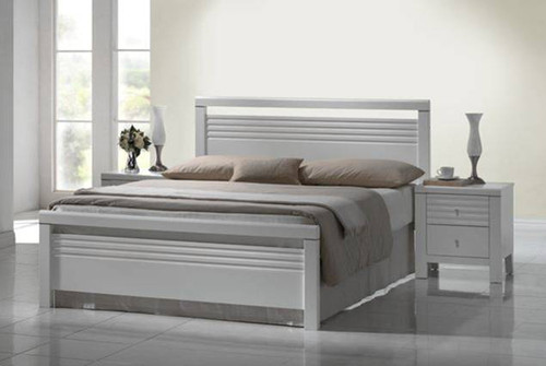 DOUBLE DALLAS / FION BED - WHITE