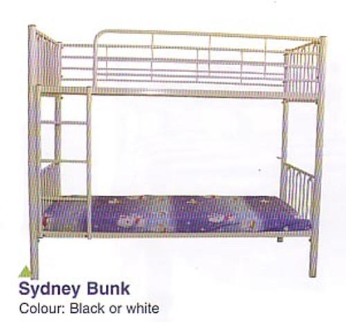 SINGLE SYDNEY BUNK BED - WHITE