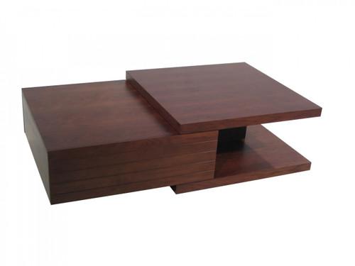 KATHERINE COFFEE TABLE - 1100(W) X  800(D) - WALNUT