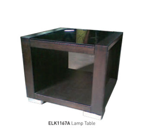 ELK COLLECTION (ELK1167A) LAMP TABLE - WENGE