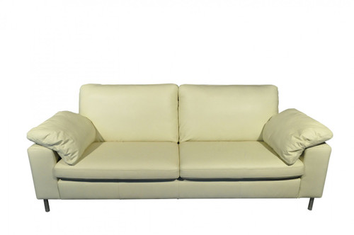 ASHLEY 3 SEATER SOFA - CREAM, CHOCOLATE OR BLACK