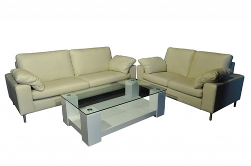 ASHLEY 3 SEATER + 2 SEATER (COFFEE TABLE NOT INCLUDED)