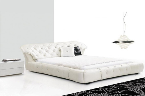 QUEEN AVA-LOUISA LEATHERETTE BED (619) - ASSORTED COLORS