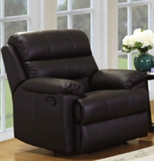 CARTER FULL LEATHER RECLINER