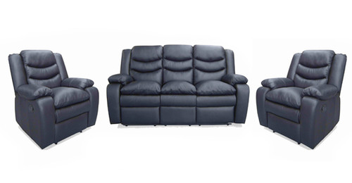 DANTE 3RR+R+R FULL LEATHER RECLINER SUITE