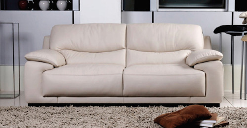FERRARA 3 SEATER + 2 SEATER FULL LEATHER LOUNGE (ITALIAN M1)- (3 SEATER NOT PICTURED)