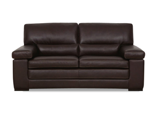 FONTANA 3 SEATER + 2 SEATER FULL LEATHER LOUNGE (ITALIAN M2) - (3 SEATER NOT PICTURED)