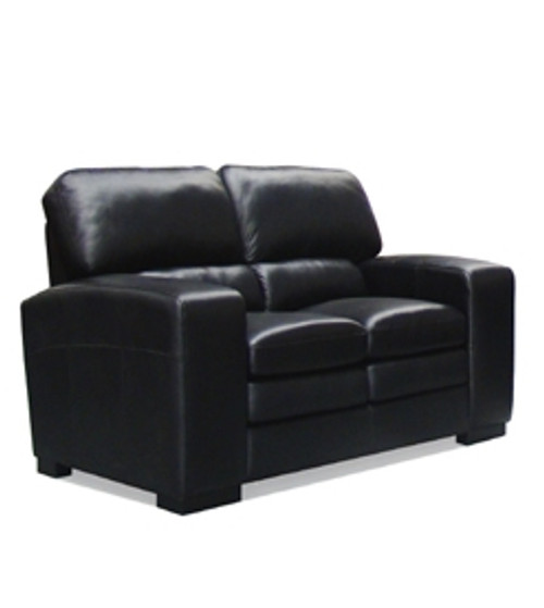 HARPER 2 SEATER FULL LEATHER SOFA