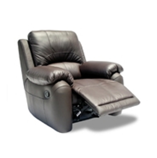 MOLLY FULL LEATHER ELECTRIC RECLINER