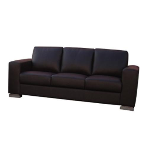 Nova 3 Seater Full Leather Sofa - Online Furniture & Bedding Store