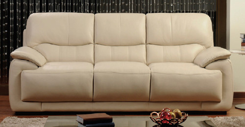 NOVARA 3 SEATER + 2 SEATER FULL LEATHER LOUNGE (ITALIAN M2) - (2 SEATER NOT PICTURED)