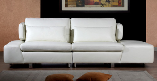 SUPREME 3 SEATER FULL LEATHER SOFA (NOT AS PICTURED)