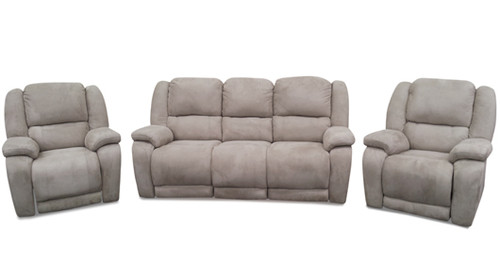 WINCHESTERS 3RR+R+R SUEDE RECLINER SUITE