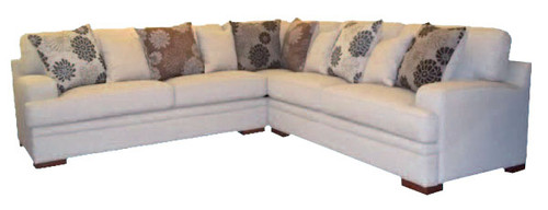 GAVELLO CORNER SUITE WITH OTTOMAN AND SCATTER CUSHIONS