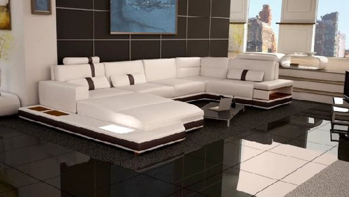 MESSALINA (G1065) 1 SEATER + 2 SEATER LEATHER/ETTE COMBINATION CORNER CHAISE SUITE - ASSORTED COLOURS
