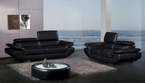 SAPHIRA (F6013) 1 SEATER + 2 SEATER + 3 SEATER LEATHER/ETTE COMBINATION LOUNGE SUITE - ASSORTED COLOURS