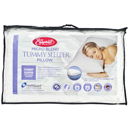 EASYREST MICROBLEND TUMMY SLEEPER PILLOW (SOFT)