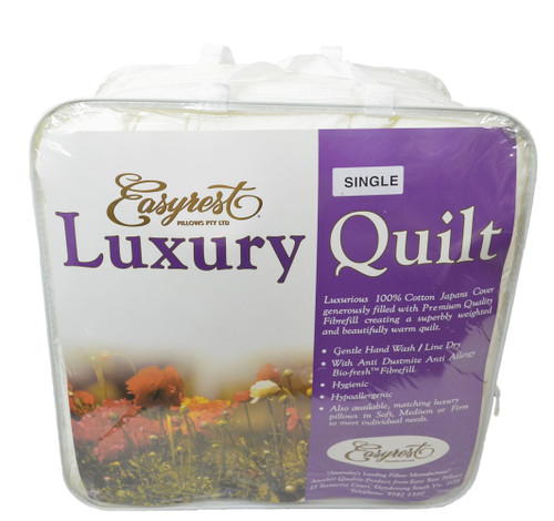 DOUBLE EASYREST AUSTRALIAN BIO FRESH LUXURY QUILT