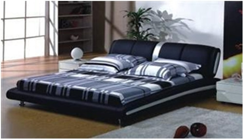 ALEX QUEEN 3 PIECE BEDSIDE BEDROOM SUITE WITH (#25 BEDSIDES) - LEATHERETTE - ASSORTED COLOURS