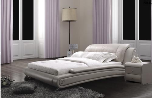 SKYLAR-ROSE QUEEN 3 PIECE BEDSIDE BEDROOM SUITE WITH (#86 BEDSIDES) - LEATHERETTE - ASSORTED COLOURS