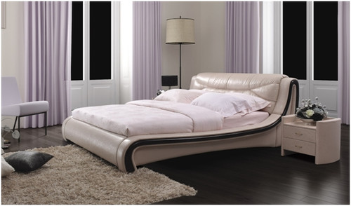 KING JEAN-CLAY LEATHERETTE BED (A8182) - ASSORTED COLOURS