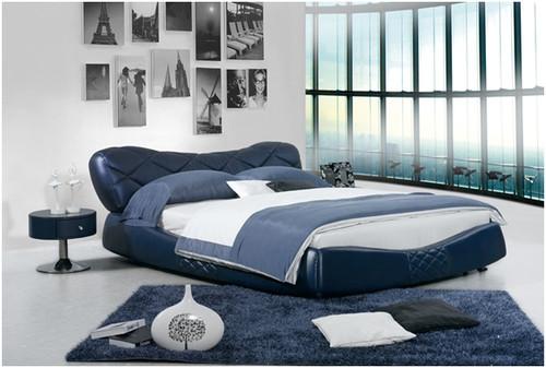 FRANCINE KING 3 PIECE BEDSIDE BEDROOM SUITE WITH (#118 BEDSIDES) - LEATHERETTE - ASSORTED COLOURS